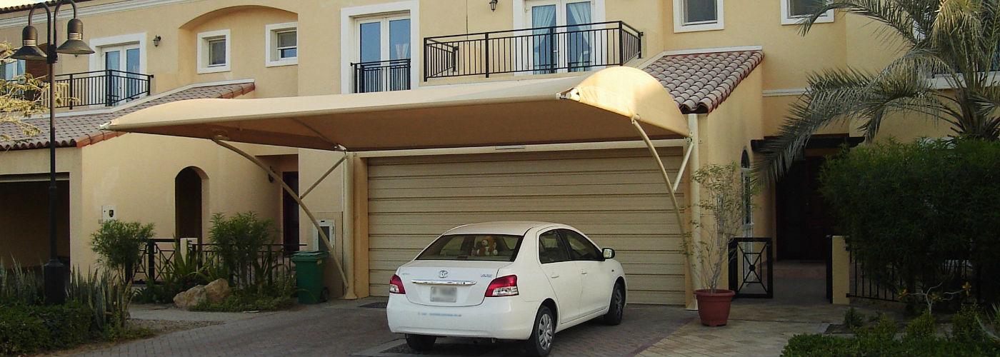 Residential - Exterior - Car Park Shades