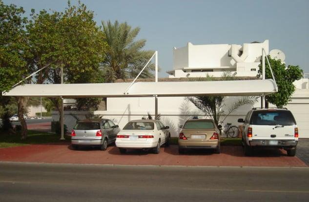Carpark Shade, Client-Jumeria Villa,  Dubai