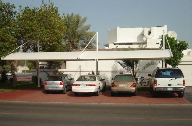 Residential - Exterior - Car Park Shade
