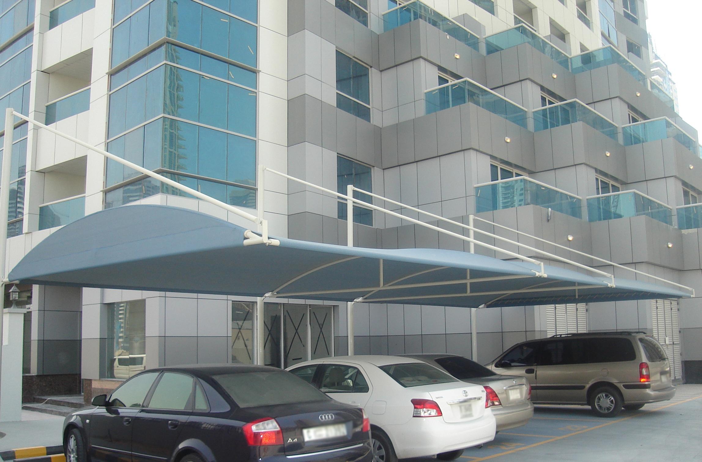 Carpark Shade, Client-Marina Diamont 2,  Dubai[1]