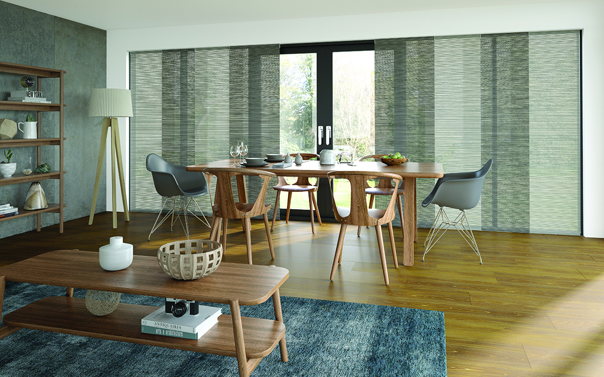 Residential - Interior - Panel Blinds