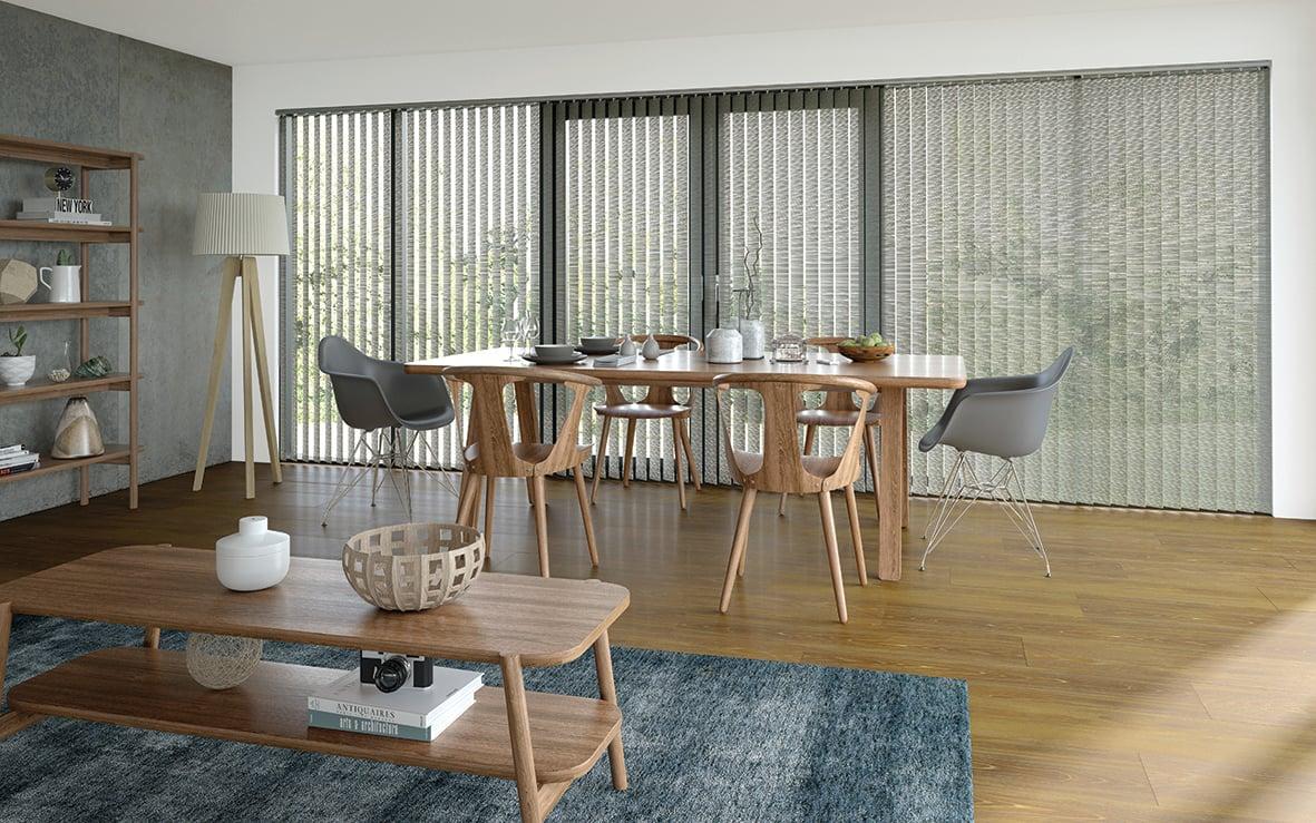Residential - Interior - Vertical blinds