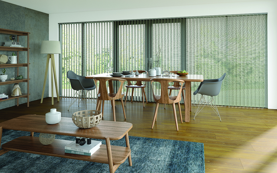 Residential - Interior - Vertical blinds