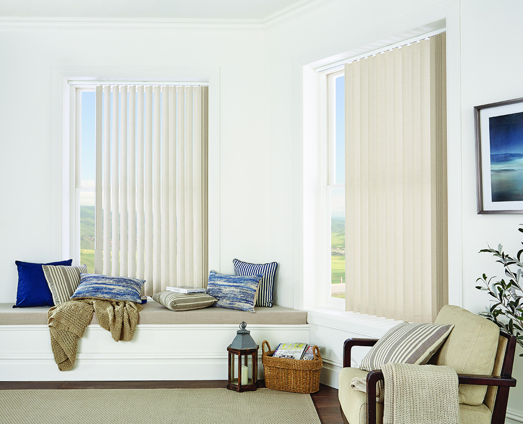 Residential Interior Vertical Blinds
