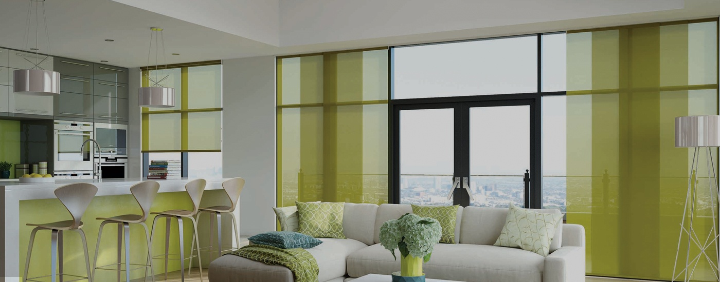 Panel Blinds - Banner Image