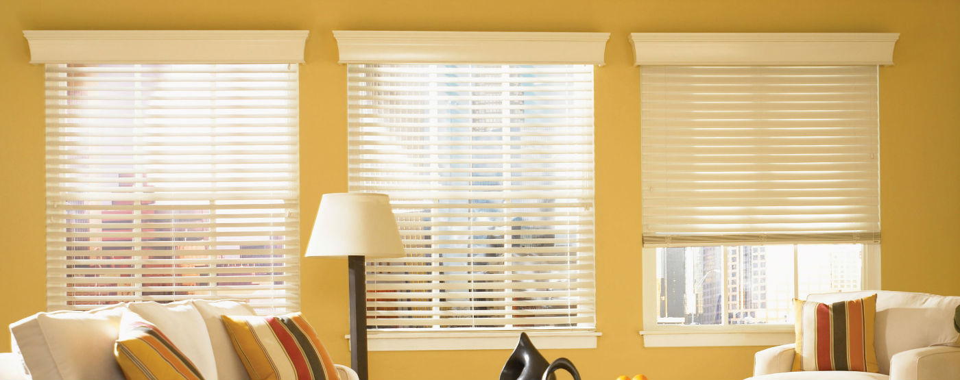 Residential - Interior - Wooden Blinds - Banner