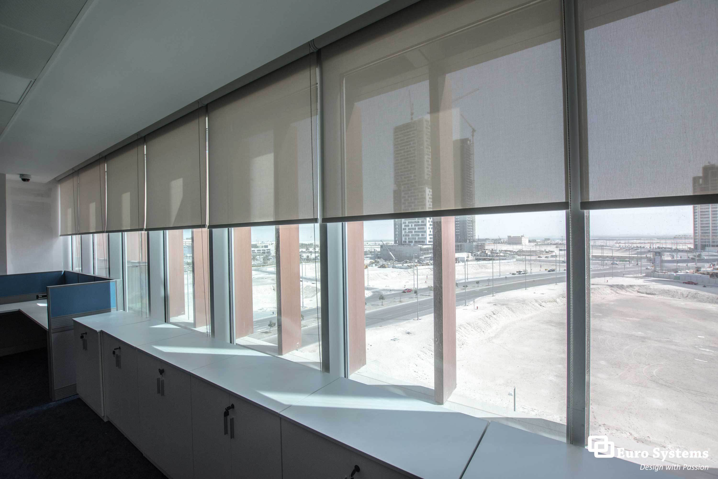 Euro Systems UAE - Commercial Roller Blinds